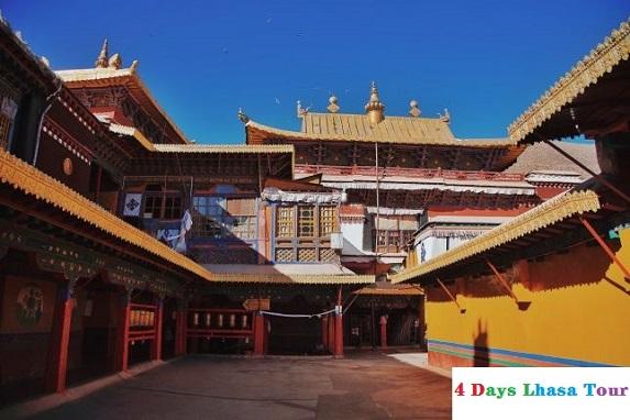 the Drepung Monastery of Tibet