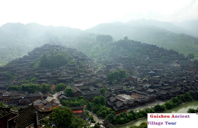 Guizhou Xijiang Qianhu Miao Village
