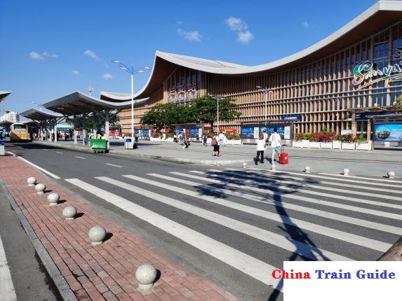 Sanya Railway Station Photo